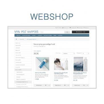 Onze webshop